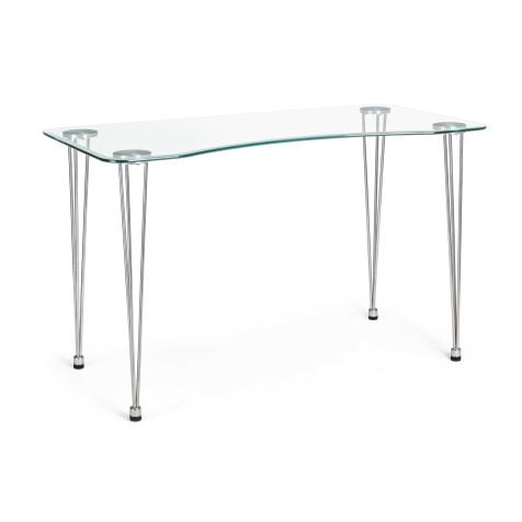 Mesa escritorio cristal...