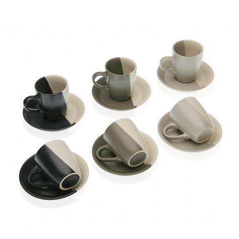 SET 6 PIEZAS CAFE ELENE