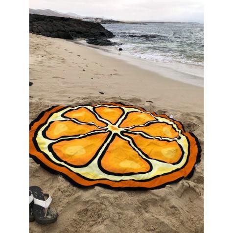 Toalla playa Naranja